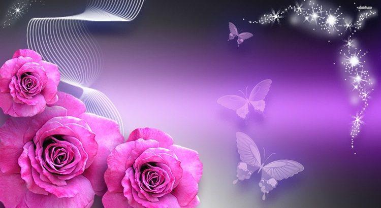 Обряд на привлекательность с розой