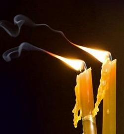 Заговор на скрученные свечи