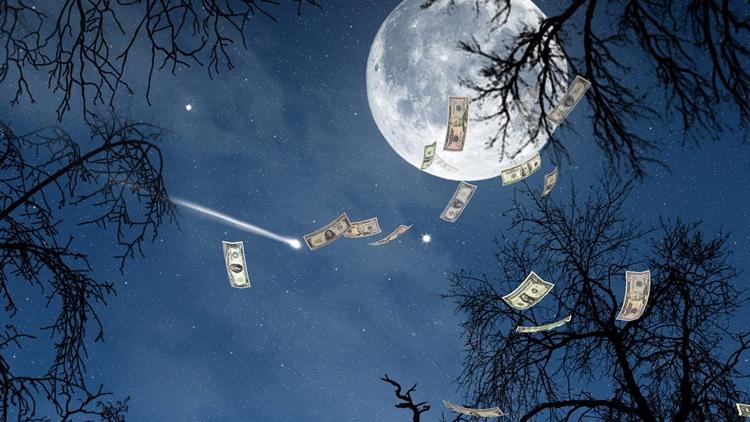 Заговор нового кошелька на растущую луну