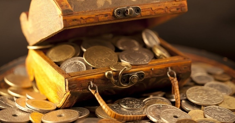Заговор молитва на богатство на монетку