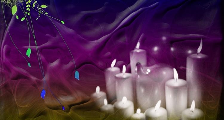 Простые ритуалы со свечами