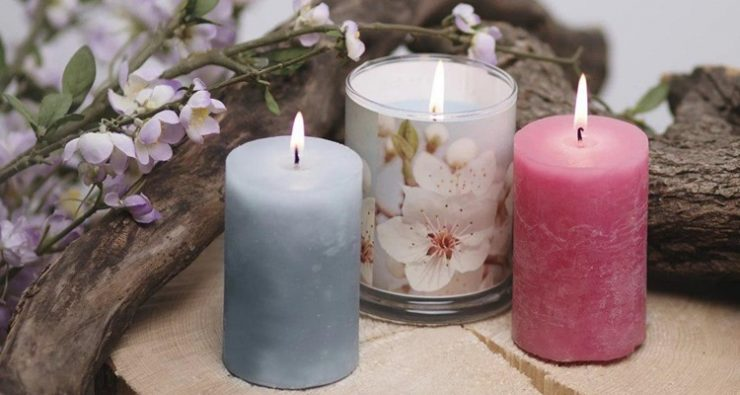Как покрасить свечи в домашних условиях