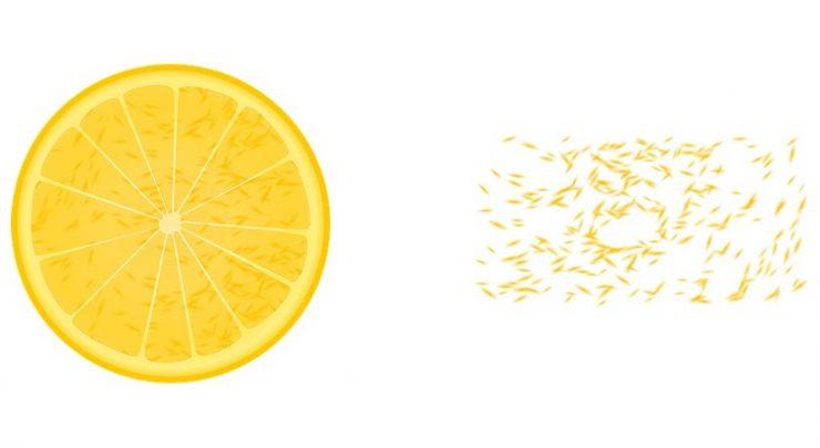 Обряд с лимонными корками