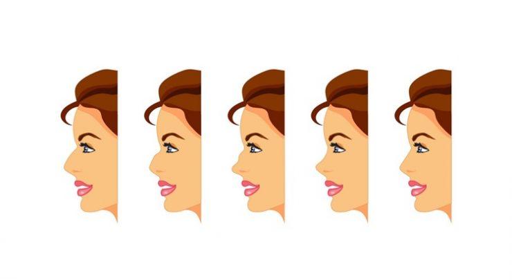 Как изменить форму носа в домашних условиях