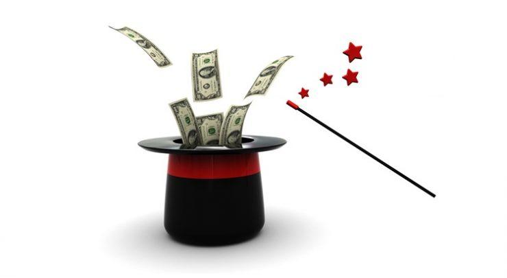 Как с помощью магии каждый день находить деньги
